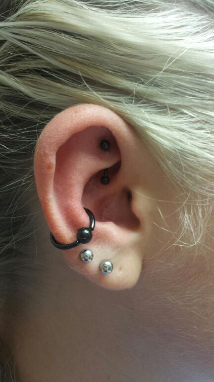Rook Piercing - Almost Famous Body Piercing