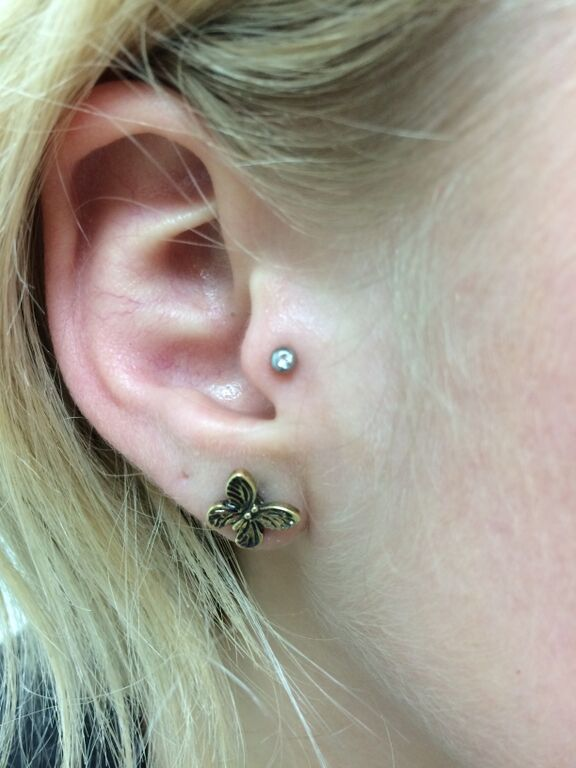 Tragus Piercing - Almost Famous Body Piercing