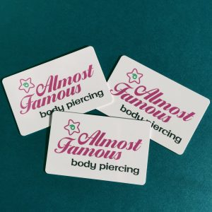 Almost Famous Piercing Gift Card