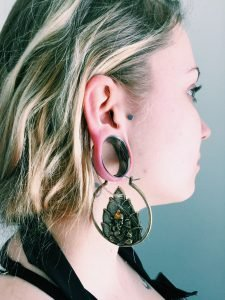 Earring Alternatives For People With Plugs Almost Famous Body Piercing