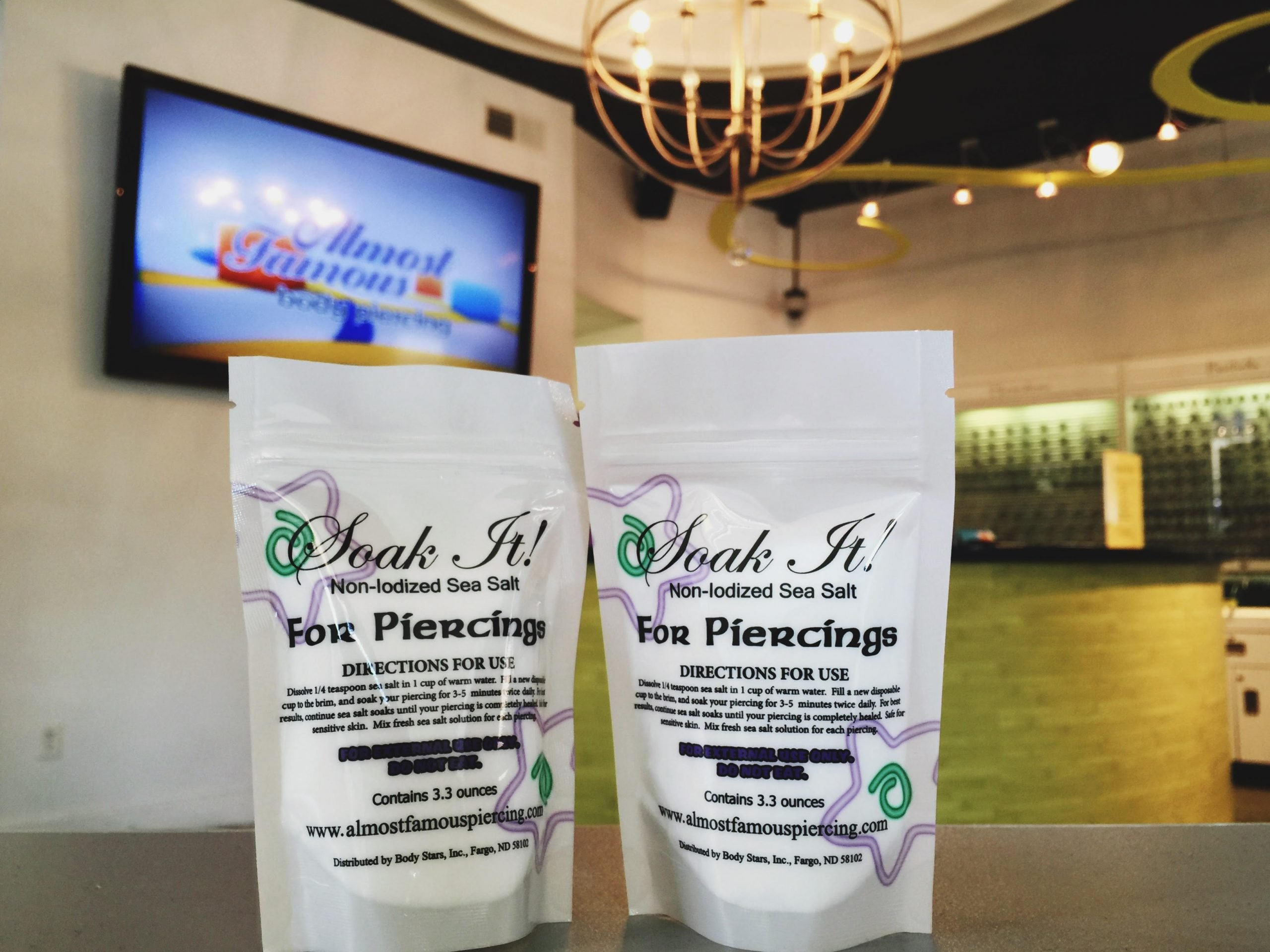 sea salt piercing aftercare – Almost Famous Body Piercing