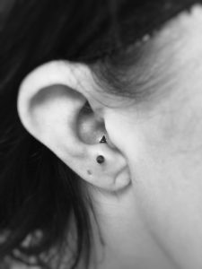 Anti-Tragus Piercing - Almost Famous Body Piercing