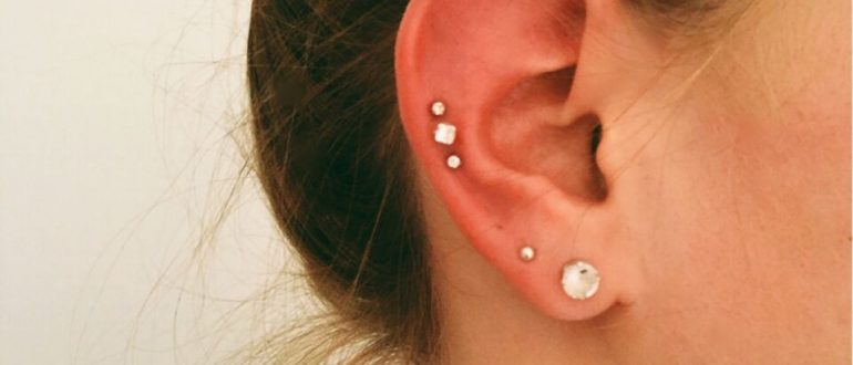 triple cartilage - Almost Famous Body Piercings