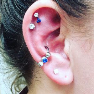 Conch piercing 5 - Almost Famous Body Piercing