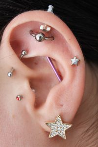 Orbital Piercing - Almost Famous Body Piercing
