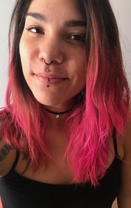 Piercer Kalei B. at Almost Famous Body Piercing