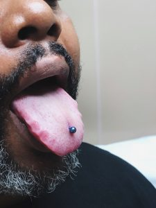 Tongue Piercing Almost Famous Body Piercing